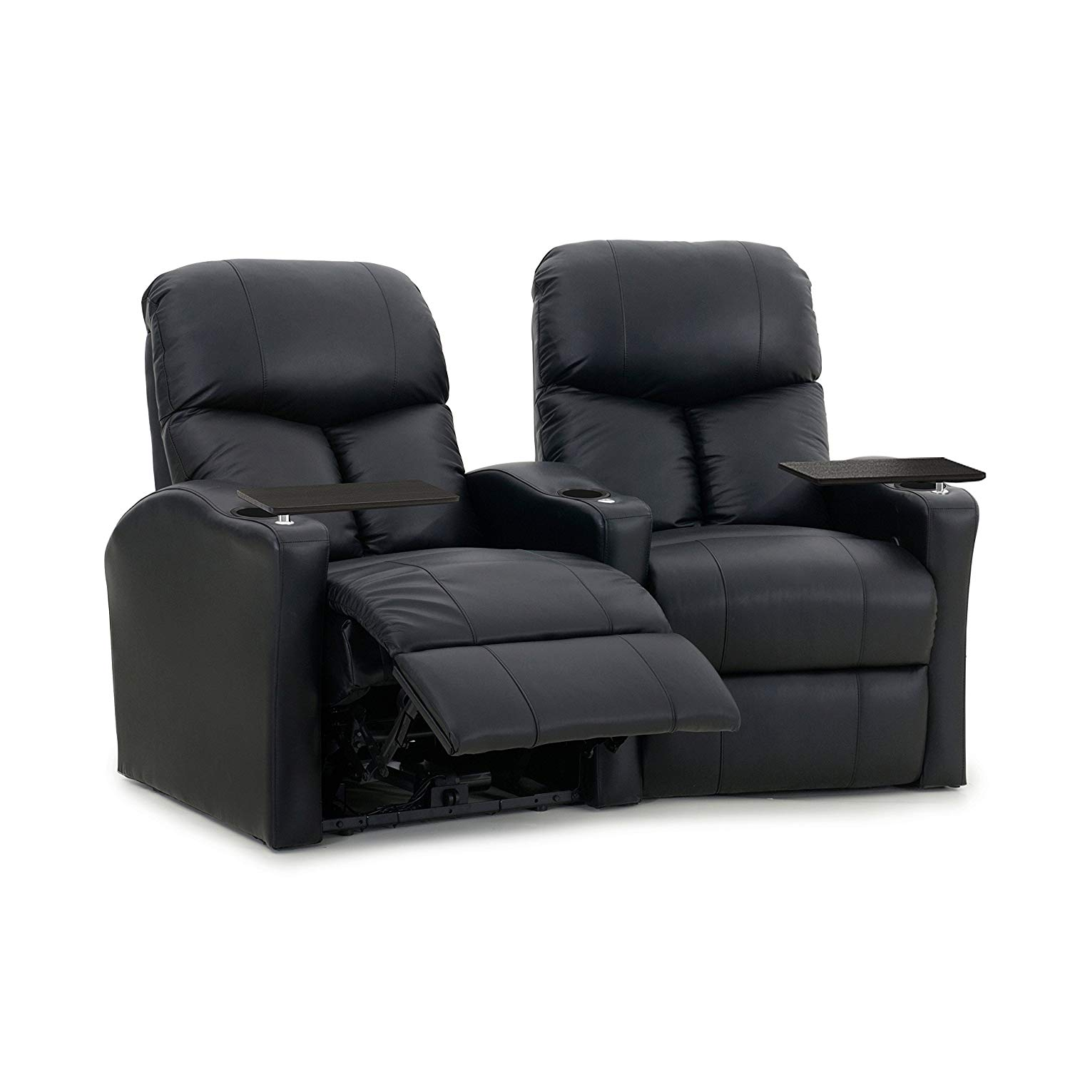theater chairs best buy xl zero gravity chair magnolia home seating row of 3 seats in fabric with manual recline