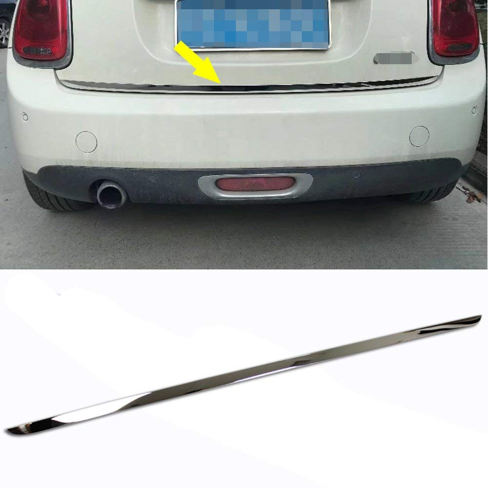 hight resolution of get quotations rqing for 2018 new mini cooper mini cooper s chrome rear trunk tailgate cover trim