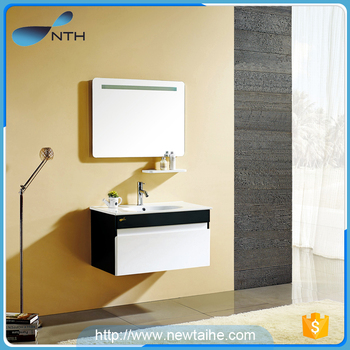 nth 2017 wall hung solid wood hotel cheap single chinese modern allen roth makeup bathroom vanity