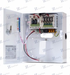 innov switching power supply 12v 5a module for relay alarm control and cctv camera [ 1000 x 1000 Pixel ]