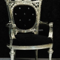 Chair Design Antique Bed Bath And Beyond Kitchen Covers Silver Foil Solid Wood Throne Royal Leisure Velvet Relax Single