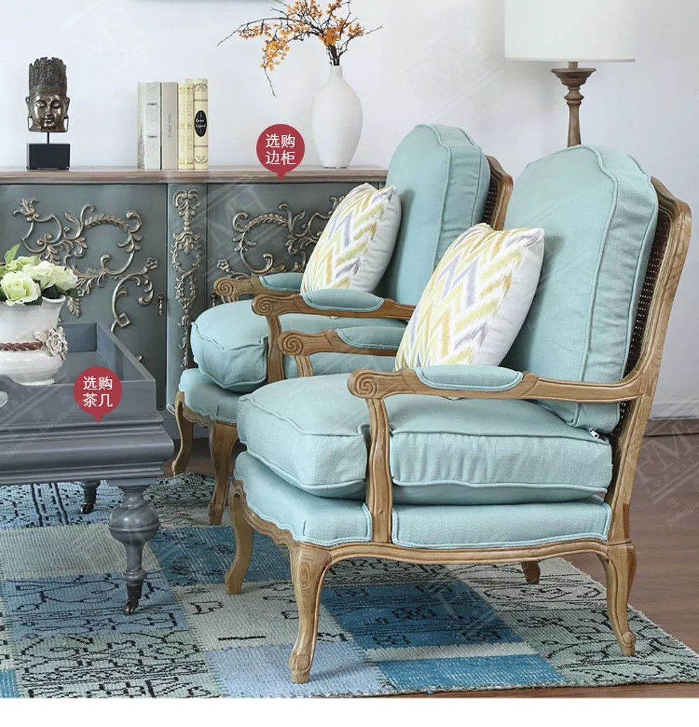 Furniture Home Living Room Set Antique Solid Wood Sofa Couch Arm Cheap Livingroom Chaise Lounge Chair Buy French Country Furniture Chaise Lounge