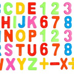 Kitchen Magnets Antique Table Buy Magnetic Letters And Numbers Refrigerator For Alphabet
