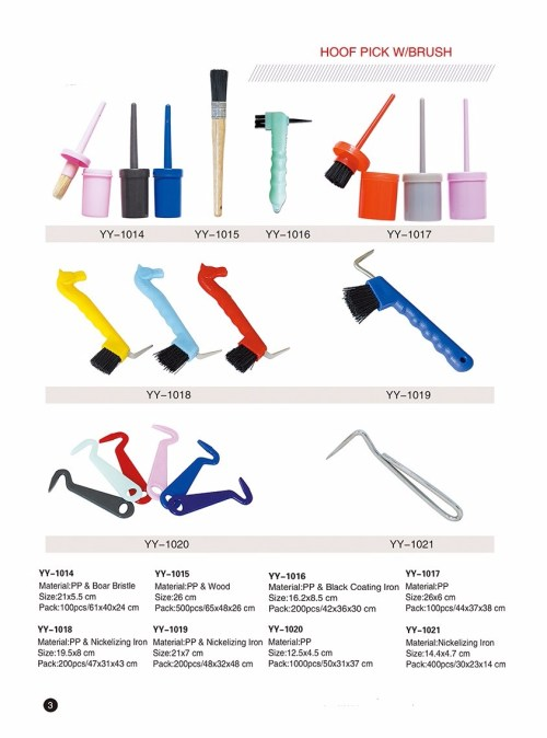 small resolution of custom logo horse grooming kits horse curry comb and brushes