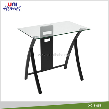Cheap Glass Laptop Desk With Metal Frame  Buy Glass