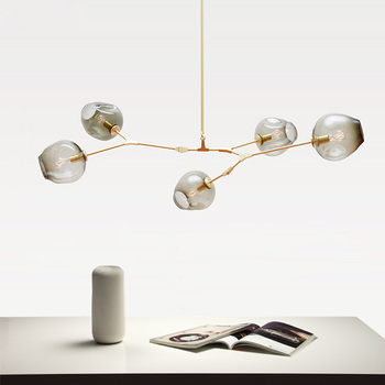 Lindsey Adelman Branching Bubble Chandelier Simple Pendant Lamp For Hotel Home Decroation