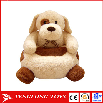 kids plush chairs reclining and ottomans wholesale custom cartoon baby soft animal chair for children