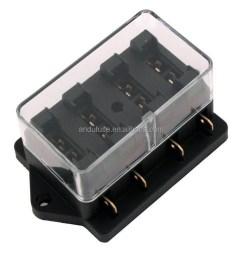 new 4 way universal standard 12v 12 volt atc blade fuse box [ 1000 x 852 Pixel ]