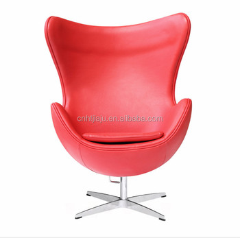 mid century egg chair little tikes desk and with light high quality midcentury red leather living room armchair