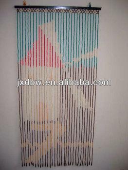 Decorative Hanging Door Beads Curtains Bamboo Wood Blinds