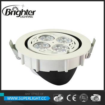 Recessed Commercial Lighting Exterior Recessed Downlight