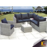 Modern Cheap Comfortable Wicker Patio Rattan Sofa ...