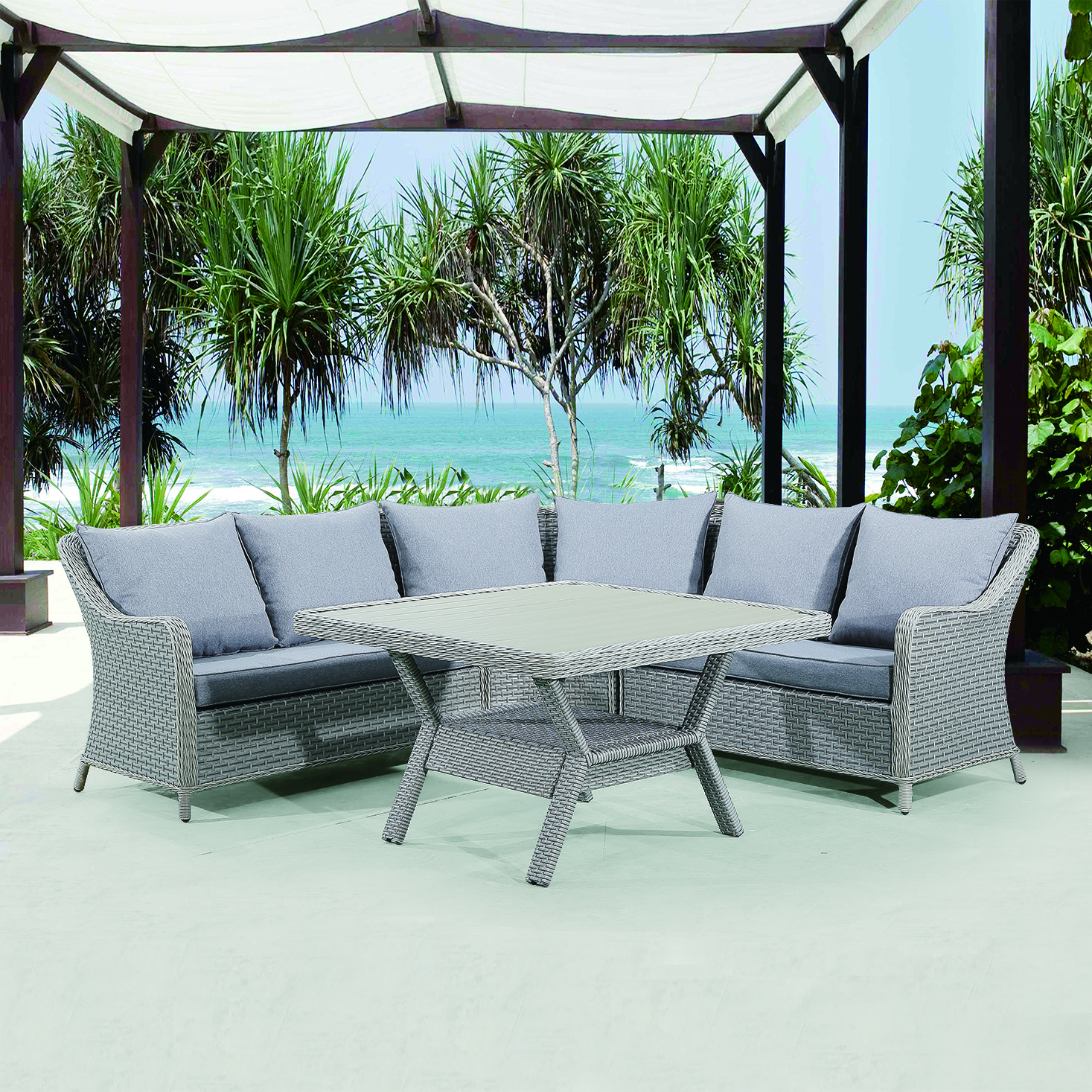 Rattan 3 Piece Sofa Rattan Garden Furniture Outdoor 3 Seater Sofa Buy Outdoor Garden Sofa Garden Sofa Outdoor Sofa Product On Alibaba