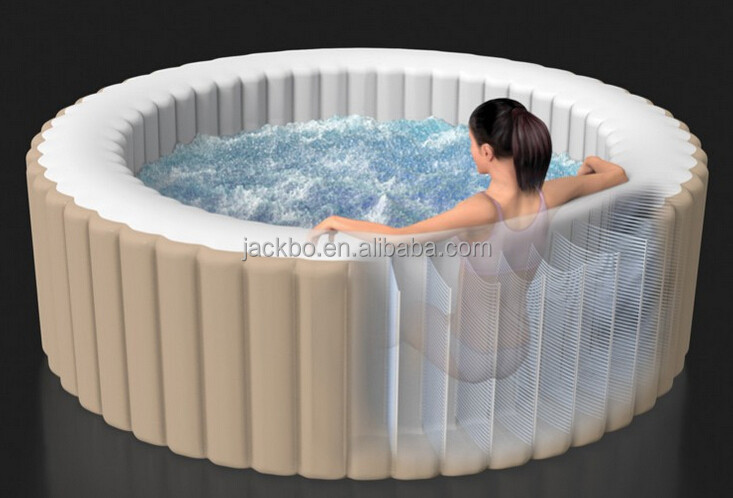 Good Quality Plastic Inflatable Portable Bathtub For Adult