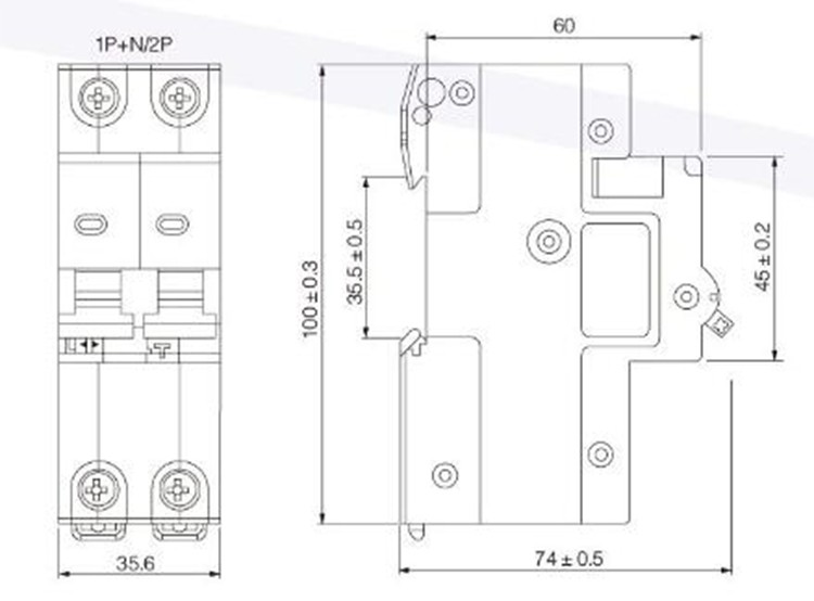 Suntree Supplier Single Phase Rcd/rcbo/rccb Price 10ka