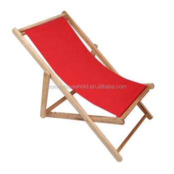 canvas beach chair big man lounge hardwood folding sun deck buy