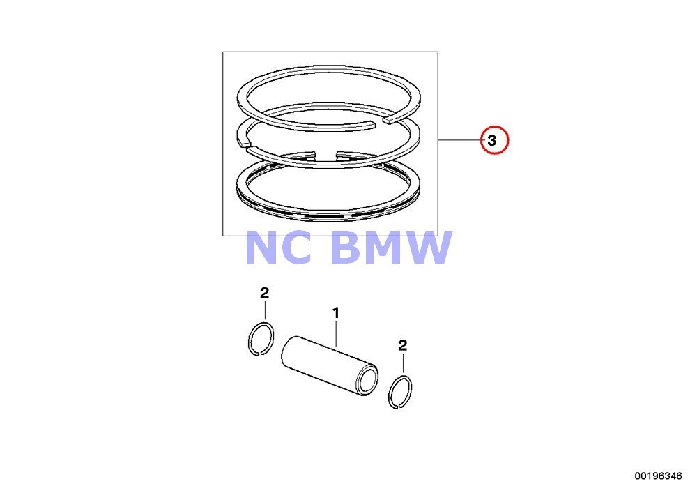 Buy BMW Genuine Motorcycle Handbrake Lever Piston