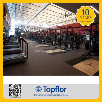 Topflor Cheap Rubber Gym Flooring  Buy Cheap Rubber Floor