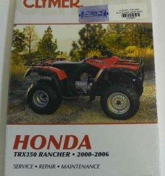 get quotations atv moto x honda clymer manual models trx 350 rancher 2000 2003 wsm [ 860 x 1080 Pixel ]