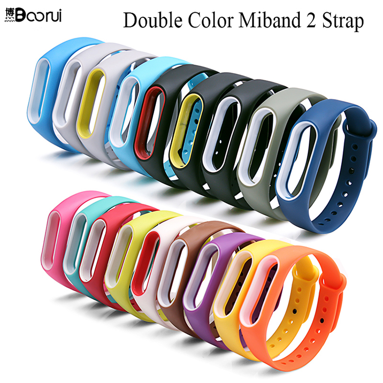 double color miband 2 strap