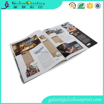 China Book Printing Custom Coloring Coffee Table