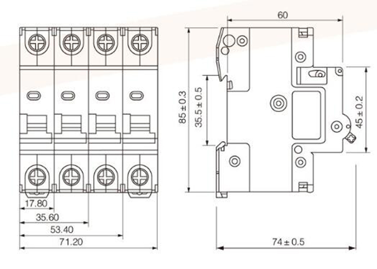 High Reliability Low Voltage Electrical Isolator Switch 3
