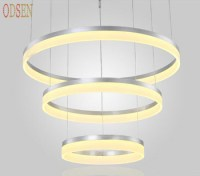 Office Decorative Led Hanging Modern Lamp Pendant Light ...