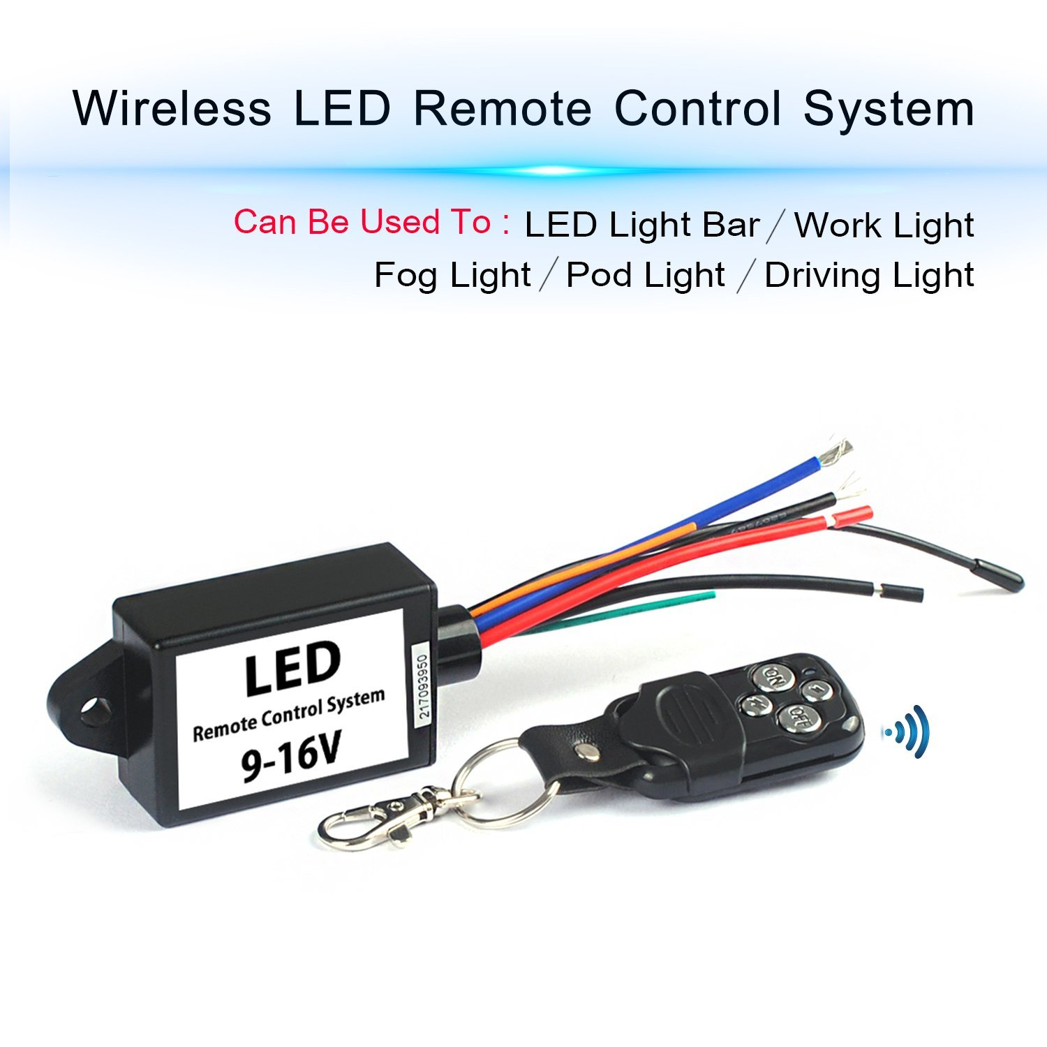 hight resolution of get quotations led light bar remote wiring harness wireless remote wiring harness for led light bar