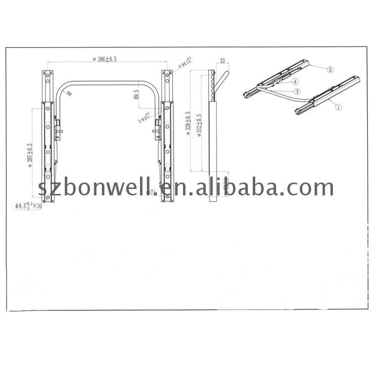 Auto Seat Parts And Accessories For Bus Truck Forklift