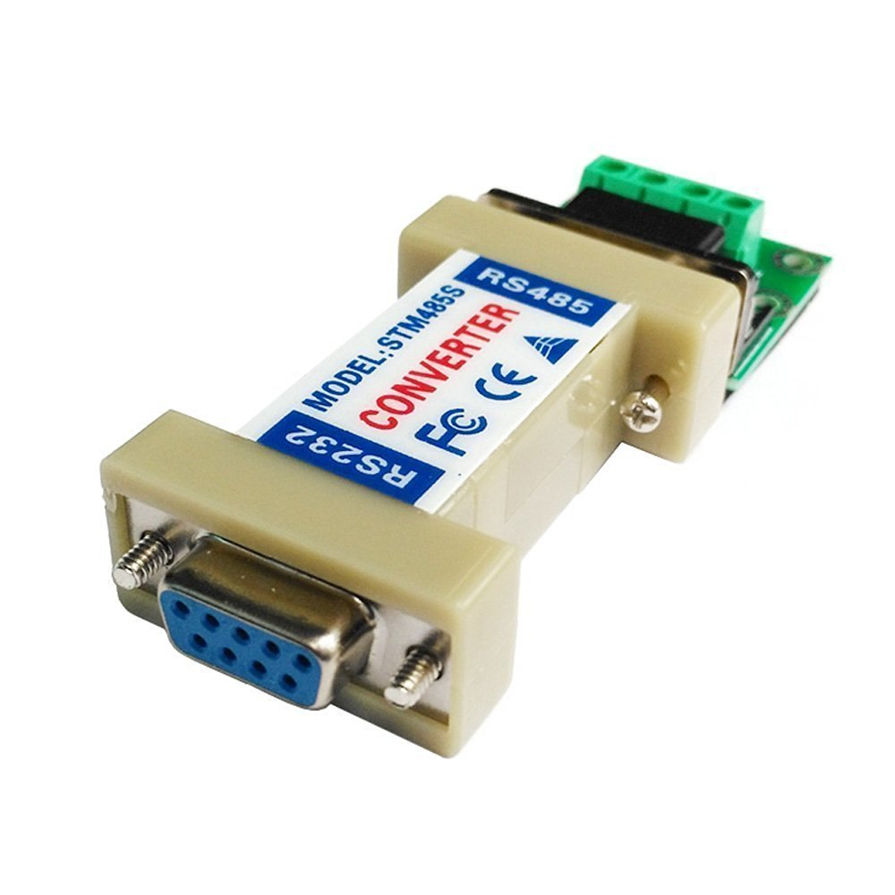 medium resolution of passive db9 9 pin rs232 rs 232 to rs485 adapter converter