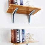 Galvanized Wooden Shelf Brackets Design Furniture Window