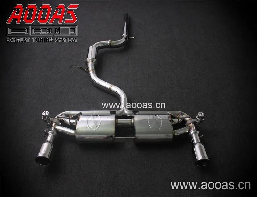 aooas for golf gti vii mk7 mk7 5 variable valve exhaust system buy variable valve exhaust variable valve exhaust system golf vii mk7 mk7 5 variable