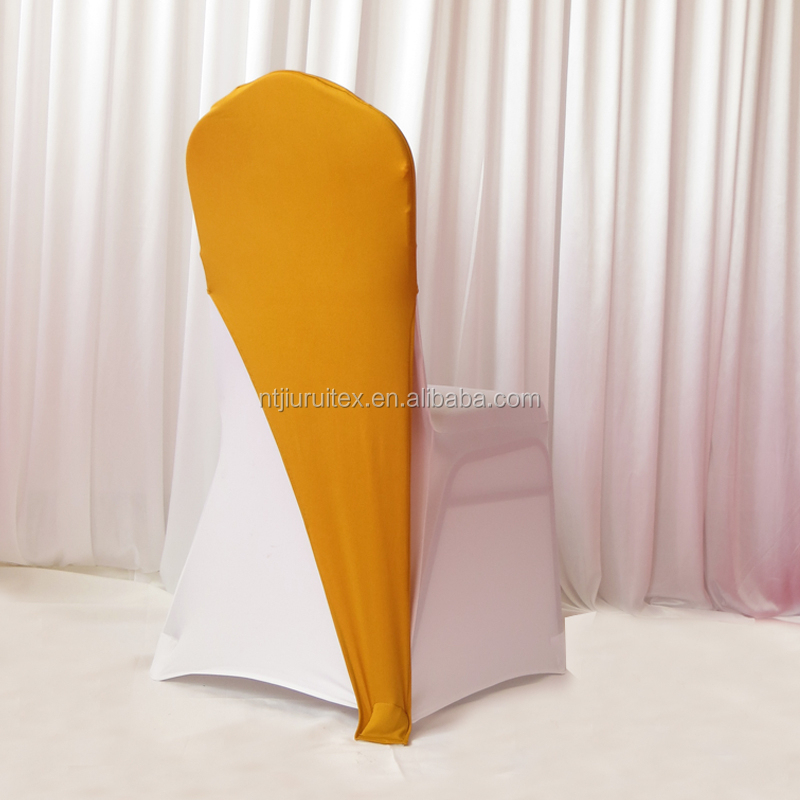 Gold Spandex Chair Cover Cap  Buy Chair Cover Cap Product