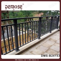Wall Mounted Bracket Iron Handrails Antique Iron Balcony ...