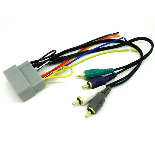 small resolution of dodge jeep car stereo cd player wiring harness wire aftermarket radio install 2002 2003 dodge durango sk6503 11