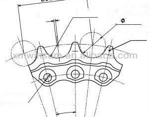 Oem Quality Bulldozer Undercarriage Spare Parts14x-27
