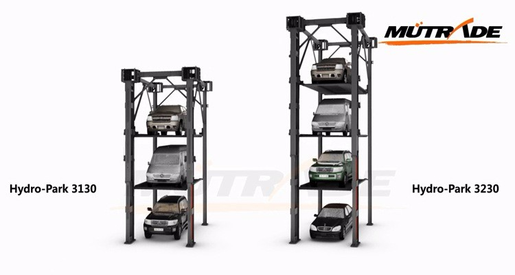 3-4 Layers Hydraulic Steel Stacker Car Parking System