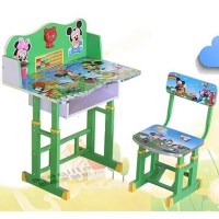 Small Cartoon Drawing Painted Kids Study Table/ Kids Table