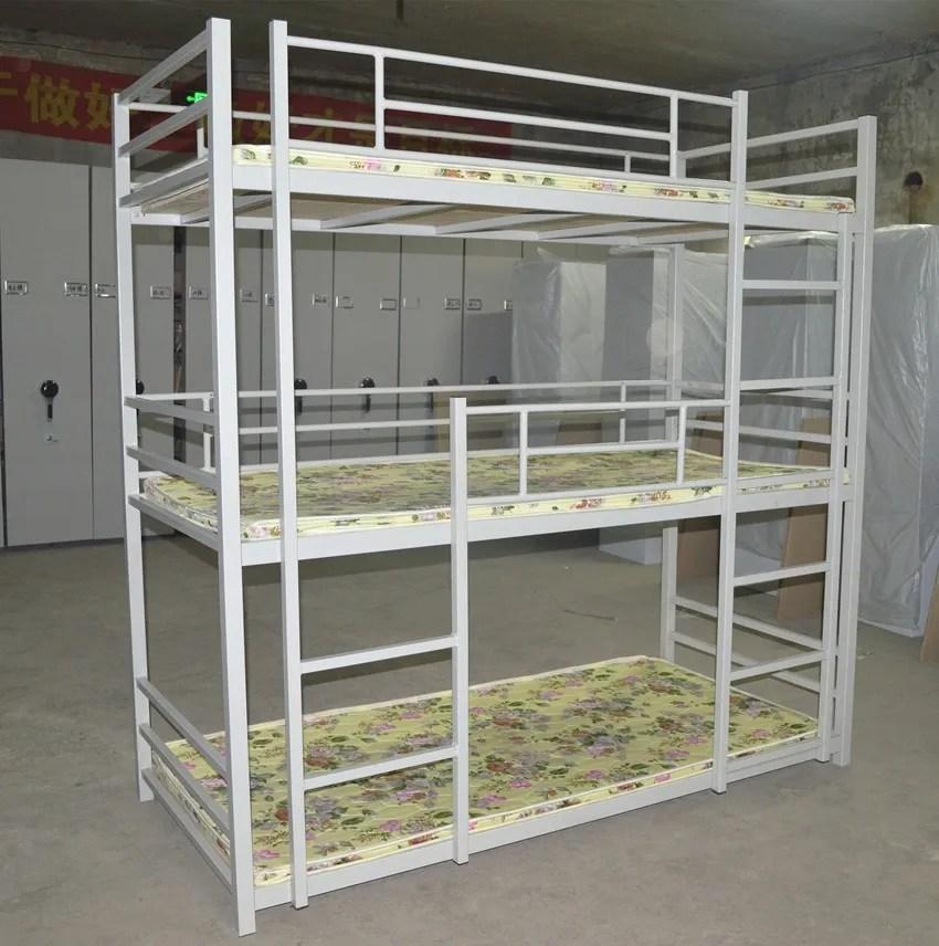 lits superposes en metal pour adultes 3 personnes accessoires de rechange pour l armee buy 3 lits superposes hauts lits militaires
