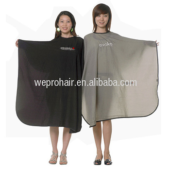 custom made 100 nylon hair cut hairdressing barber cape salon gown hair cut barber cape