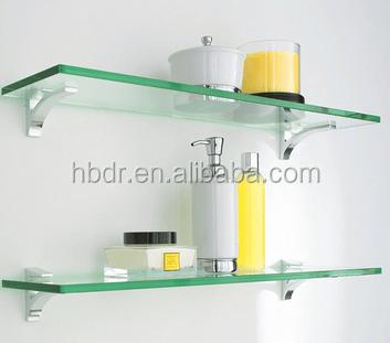 etageres en verre trempe pour salle de bain decoration d hotel et de la maison buy etageres en verre accessoire en verre de douche etagere murale