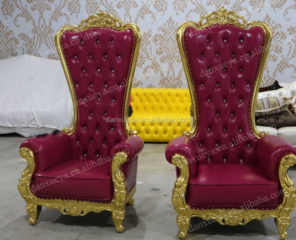 alibaba royal chairs polywood folding adirondack chair danxueya wholesale high end queen throne buy