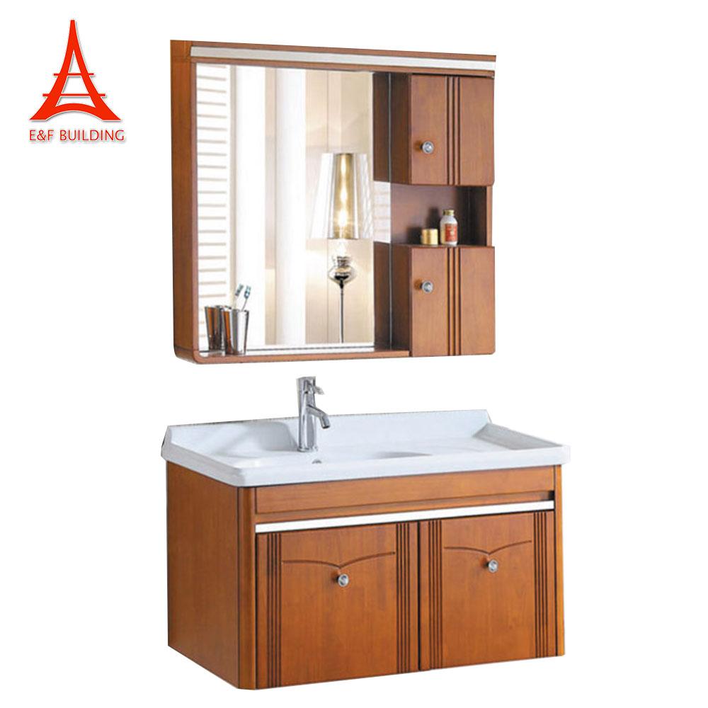 India Bathroom Kayu Tunggal Sink Vanity Dinding Mounted Kamar Mandi Mdf Kabinet Dengan Cermin Buy Kabinet Kamar Mandi Dengan Cermin Tunggal Sink Vanity Dinding Mounted Bathroom Kabinet Product On Alibaba Com