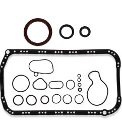 get quotations 1994 95 96 1997 acura honda accord 2 2l cylinder lower gasket kit [ 1500 x 1500 Pixel ]