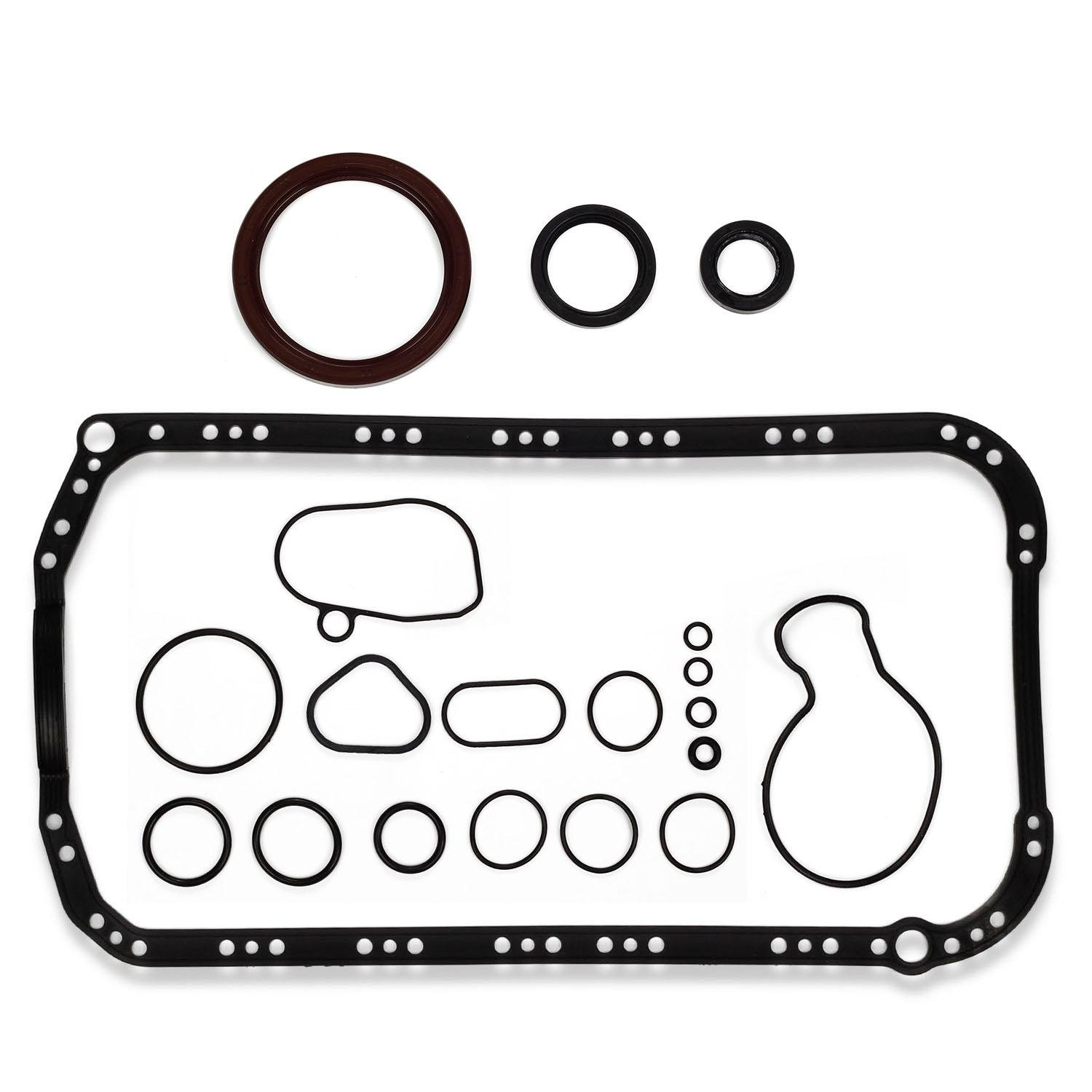 hight resolution of get quotations 1994 95 96 1997 acura honda accord 2 2l cylinder lower gasket kit