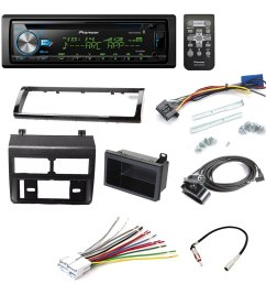 pioneer deh x6900bt cd receiver car stereo car stereo radio dash installation mounting kit add [ 1000 x 1000 Pixel ]