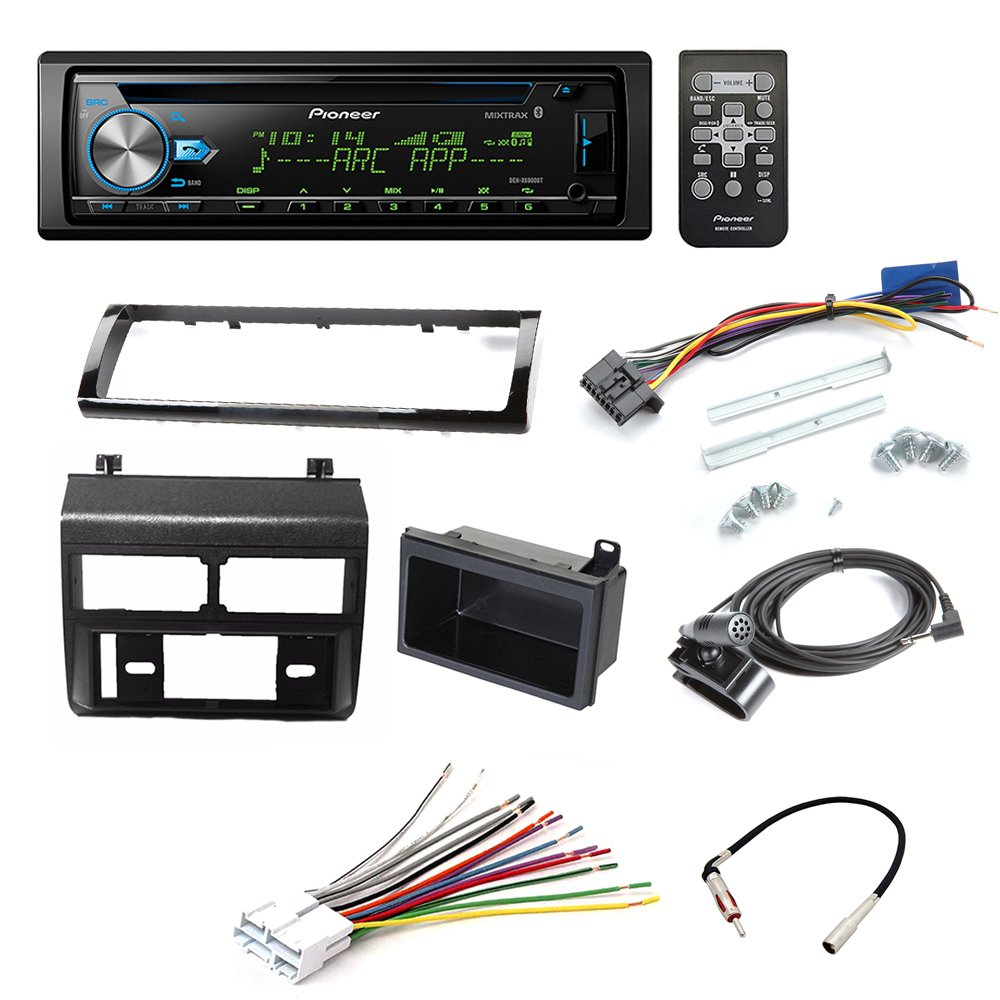 medium resolution of pioneer deh x6900bt cd receiver car stereo car stereo radio dash installation mounting kit add