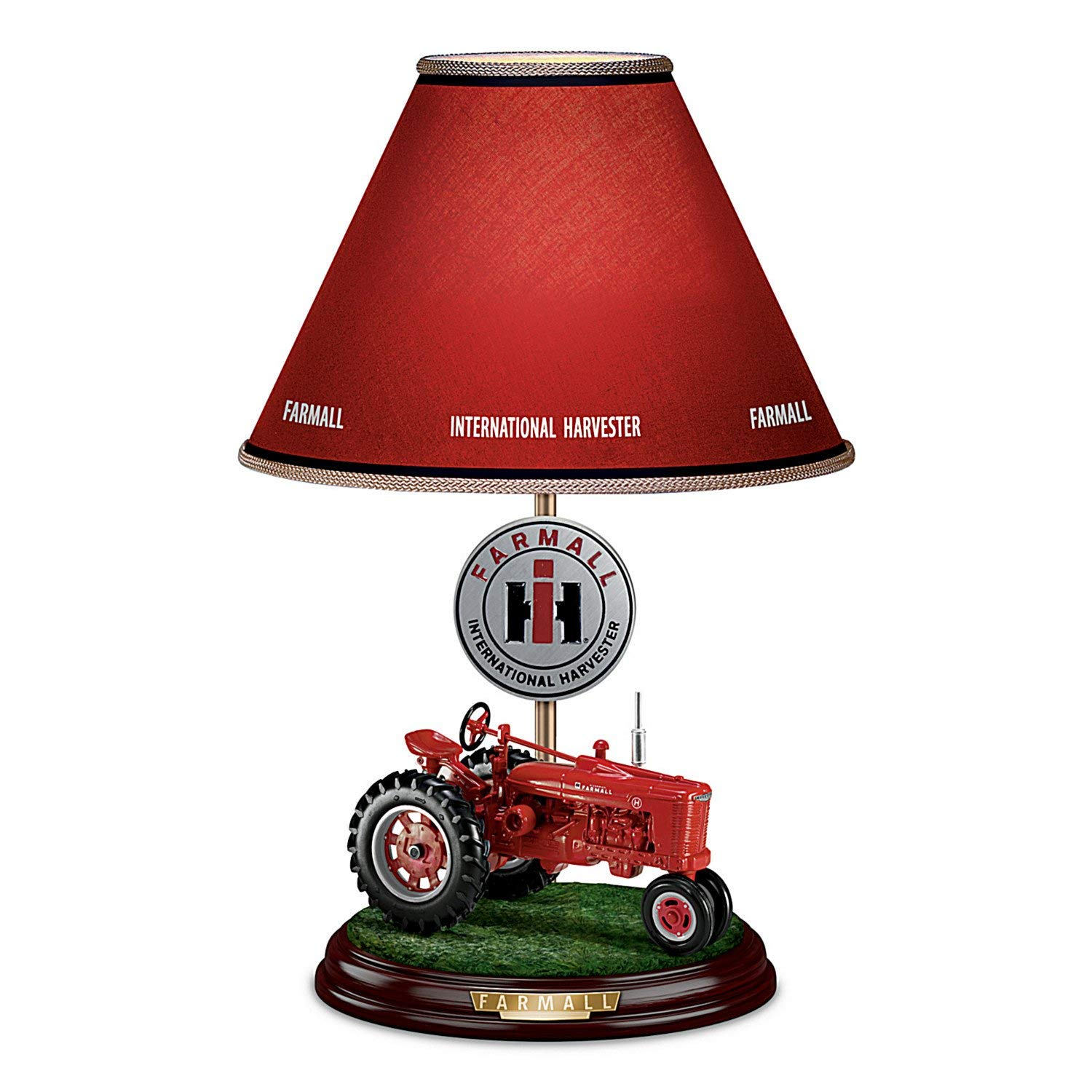 hight resolution of get quotations farmall heritage table lamp with fully sculpted model h farmall tractor base by the