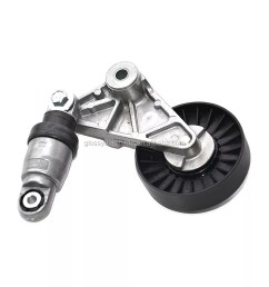 glossy timing belt tensioner pulley opel 9180809 [ 1000 x 1000 Pixel ]