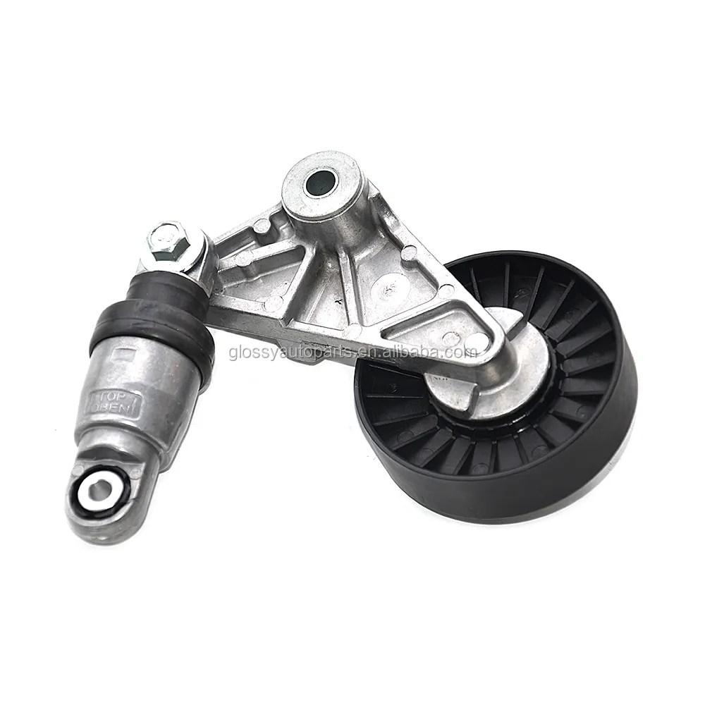 medium resolution of glossy timing belt tensioner pulley opel 9180809